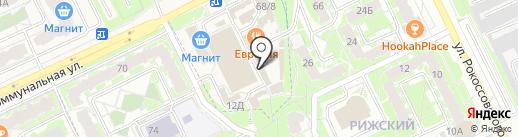 Вина Кубани на карте Пскова