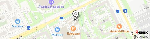 Цветочная фея на карте Пскова