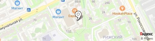 ДЯДЯ SAM на карте Борисовичей