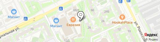 Энергоприоритет на карте Пскова