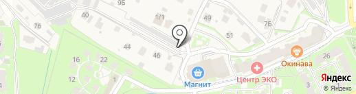 Автосервис Борисовичи на карте Борисовичей