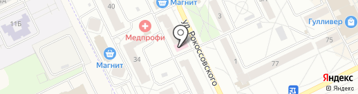 Группа Довмонт на карте Пскова