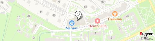 Строящиеся объекты на карте Борисовичей
