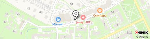 Кукумбер на карте Борисовичей