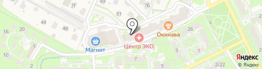 ARENA на карте Борисовичей
