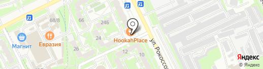 7 цветов на карте Пскова