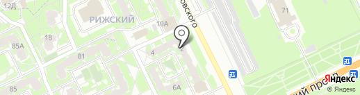 Вита Дент+ на карте Пскова