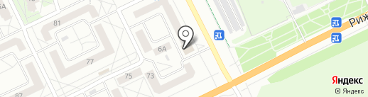 Снага-ОПТ на карте Пскова