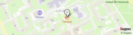 К чаю & к кофе на карте Пскова