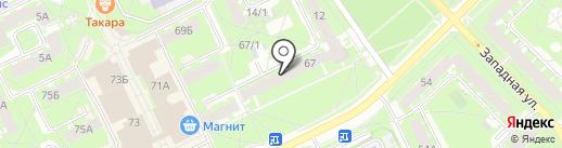 Шакира на карте Пскова