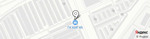 Автокомплекс на карте Пскова