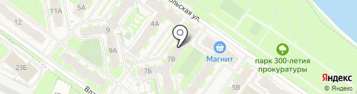 Северо-Западный банк Сбербанка России на карте Родины