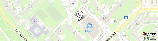 Молочные продукты из Пушкиногория на карте Пскова