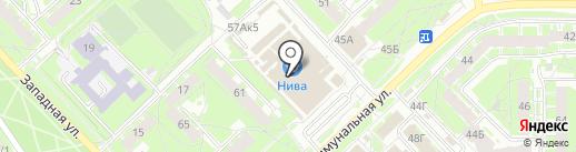 Кот Матроскин на карте Пскова