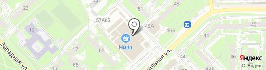Яркий Мир на карте Пскова