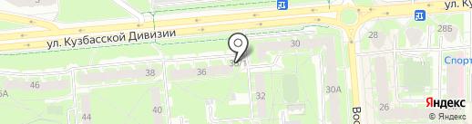 Овощной магазин на карте Пскова
