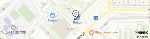 De Люкс на карте Пскова