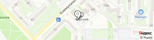 Колесница на карте Пскова