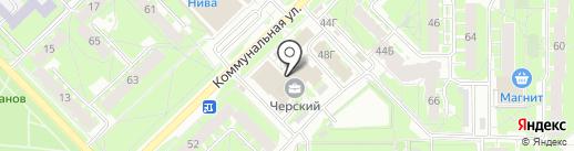 Мастерская по ремонту обуви на карте Пскова