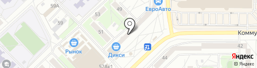 Эстом на карте Пскова