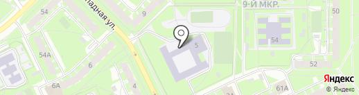 Многопрофильный правовой лицей №8 на карте Пскова