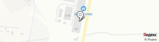 Шина Плюс на карте Пскова