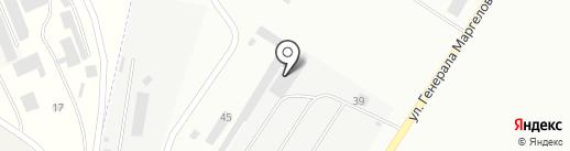 Сервисный металлоцентр на карте Пскова
