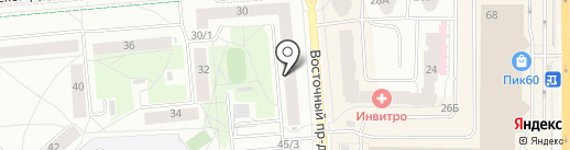 Псковский специальный дом для одиноких престарелых на карте Пскова