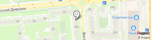 Специализированное отделение для одиноких престарелых на карте Пскова
