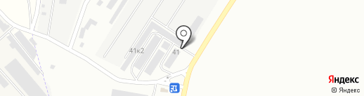 ONE BOX на карте Пскова