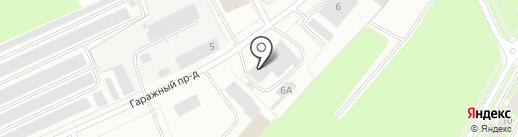 ЕвроАвто на карте Пскова