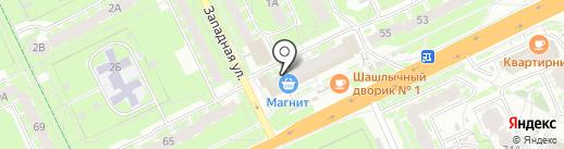 ПРОСЕРВИС60 на карте Пскова