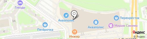 Hesburger на карте Пскова