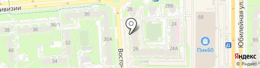 Major Bar & Grill на карте Пскова