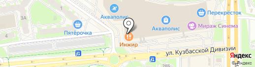 Курщивель на карте Пскова
