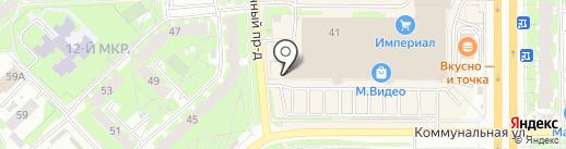 Kristy на карте Пскова