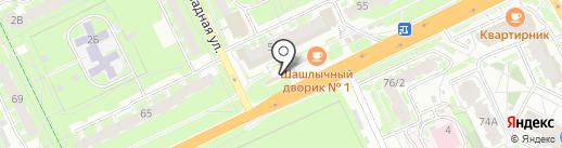 Запчасти для ВАЗ на карте Пскова