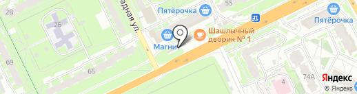 Магазин запчастей для ВАЗ на карте Пскова