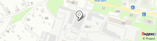 ЕвроЛат на карте Пскова