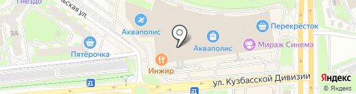 Serginnetti на карте Пскова