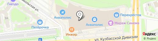 Bershka на карте Пскова