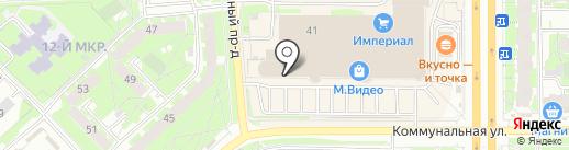Везунчик на карте Пскова