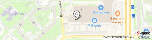 Банкомат, Банк ВТБ 24, ПАО на карте Пскова