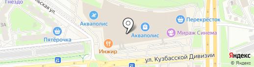 АДАМАС на карте Пскова