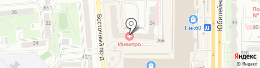 Академия вождения на карте Пскова