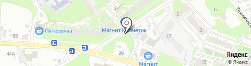 Магазин овощей и фруктов на карте Пскова