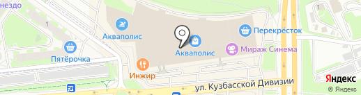 Podium на карте Пскова