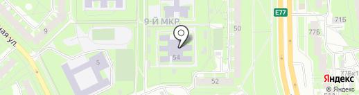 Детский сад №45, Родничок на карте Пскова