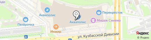 Бабочка на карте Пскова