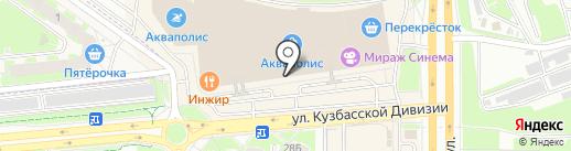 Zlata на карте Пскова